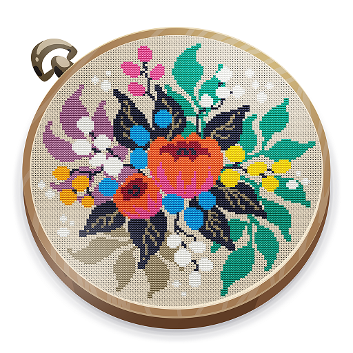 Cross Stitch Club — Color by Numbers with a Hoop 1.4.29