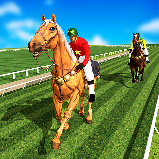 Horse Racing Games 2020: Horse Riding Derby  4.4