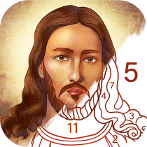 Bible Coloring – Paint by Number, Free Bible Games 2.12.1