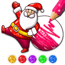 Christmas Coloring Game – Learn Colors 4.3