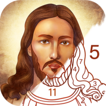 Bible Coloring – Paint by Number, Free Bible Games 2.17.0