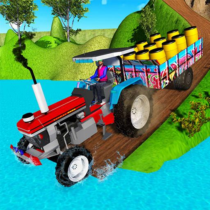 Indian Tractor Trolley Off-road Cargo Drive Game 1.0.2
