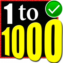 Learn 1 to 1000 Numbers 6