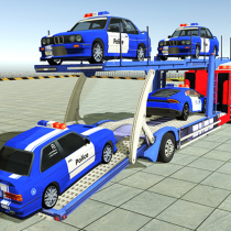 Police Car Transporter 3d: City Truck Driving Game 3.1