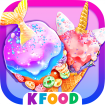 Unicorn Chef: Mermaid Cooking Games for Girls 2.2