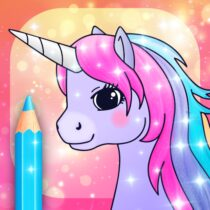 Unicorn Coloring Pages with Animation Effects 3.3