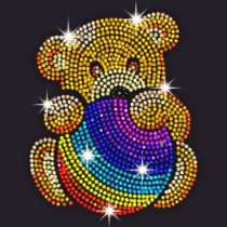 Diamond Coloring – Sequins Art & Paint by Numbers
