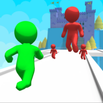 Giant Clash 3D – Join Color Run Race Rush Games