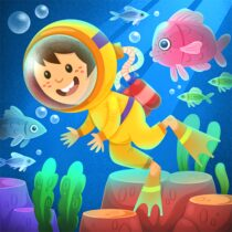 Kiddos under the Sea : Fun Early Learning Games