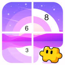 Jigsaw Coloring: Number Coloring Art Puzzle Game
