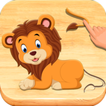Jigsaw Puzzles For Kids – Animals Shapes