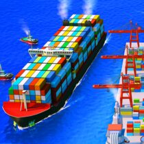 Sea Port: Ship Transport Tycoon & Business Game