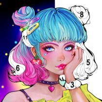 Sweet Coloring: Color by Number Painting Game