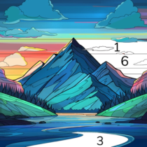 Color Flow Color by Number. Coloring games  1.11.2