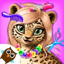 Jungle Animal Hair Salon – Styling Game for Kids
