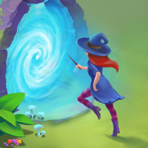 Charms of the Witch: Magic Mystery Match 3 Games 2.39.0