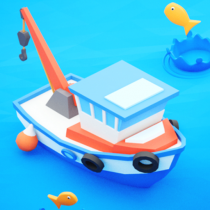 Fish idle: hooked tycoon. Fishing boat, hooking  4.0.17