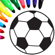 Football coloring book game 16.0.2