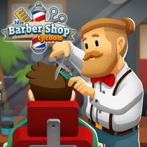 Idle Barber Shop Tycoon Business Management Game  1.0.7