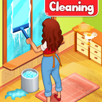 Big Home Cleanup and Wash : House Cleaning Game 3.0.7