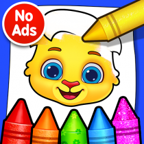 Coloring Games Coloring Book, Painting, Glow Draw  1.1.5