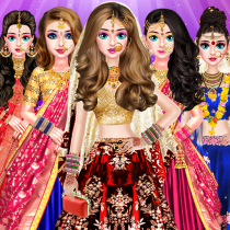 Indian Bride Stylist Dressup & Beauty Makeup Game 1.0.6