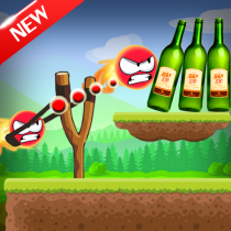 Knock Down Bottles 321 :Ball Hit Cans & Shoot Down  0.2