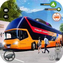 Tourist Coach Bus Highway Driving  1.1.5