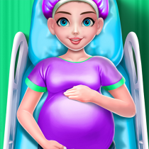 Pregnant Mommy & Baby Care: Babysitter Baby Games 0.22