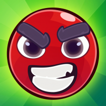 Red Bounce Ball: Jumping and Roller Ball Adventure 1.24