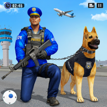 Police Dog Airport Crime Chase : Dog Games 4.5
